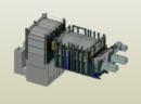 Construction of the glass furnace – Wolczyn