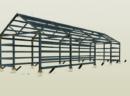 Steel bicycle shed – Nidzica